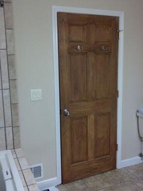 Interior Doors White Trim With Woods
