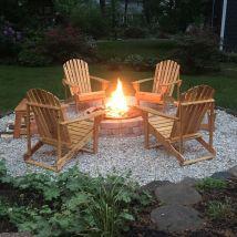 Outdoor Backyard Living Idea