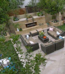 Outdoor Backyard Living Room Ideas