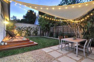 Outdoor Backyard Living Room