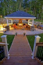 Outdoor Backyard Living Rooms Design Ideas