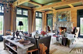 Rustic Lake Cabin Decor And Photos