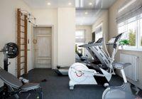 Small Home Gym Design Idea