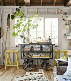 Tiny Lake Cottage Bedroom Decor Idea