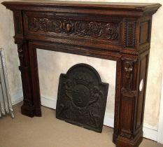 Antique Fireplace Mantels Wood