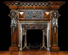 Antique Vintage Fireplace Mantels