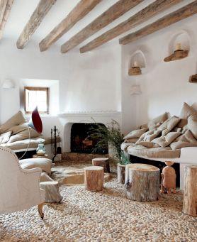 Modern Rustic Living Room Design Ideas
