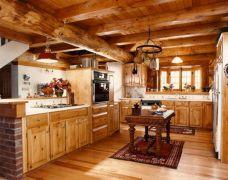 Rustic Log Home Decorating Ideas