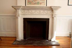 Vintage Faux Fireplace