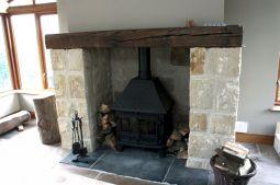 Vintage Style Fireplace