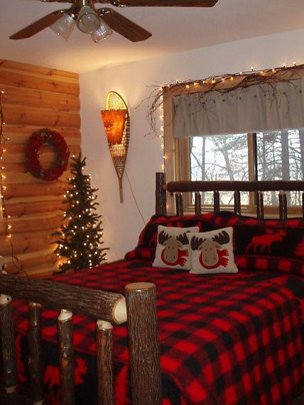Awesome Christmas Bedroom Design 23