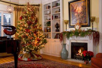 Awesome Christmas Living Room Decoration
