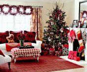 Christmas Living Room Decoratings