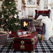 Country Christmas Living Room Ideas