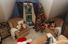 Little Room For Christmas Tree
