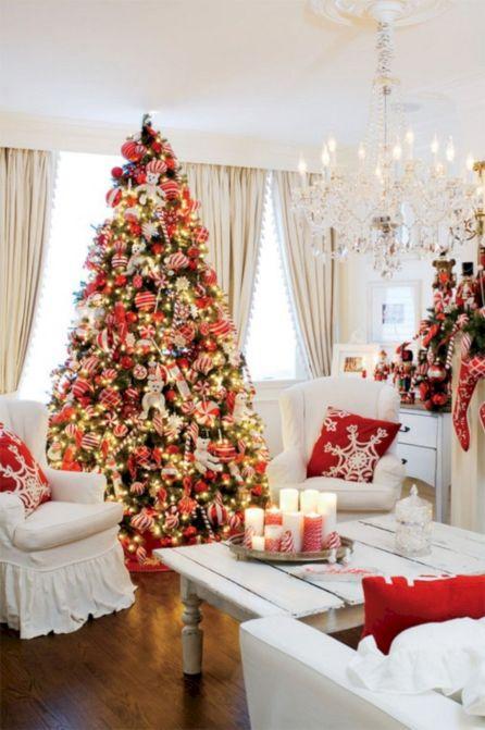 Living Room Christmas Decoration Ideas