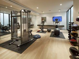 Luxury Home Gym Design