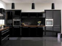 Black High Gloss Kitchen