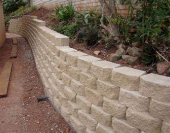 Concrete Retaining Wall Block