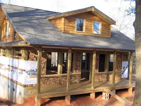 Cordwood Construction IdeaS