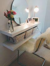 DIY Makeup Vanity Design Ideas 10
