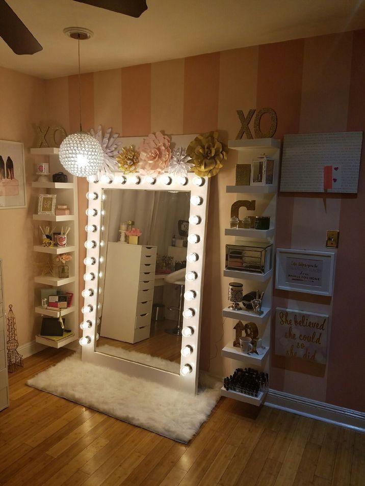 DIY Makeup Vanity Design Ideas 26