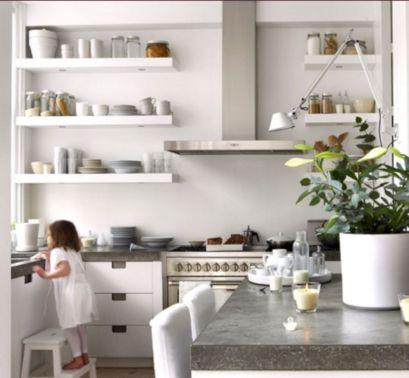 Floating Shelves For Kitchen Open Shelving