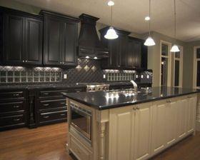 Kitchen Design Ideas With Black Cabinets