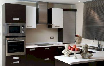 Modern Black Kitchen Cabinets Ideas
