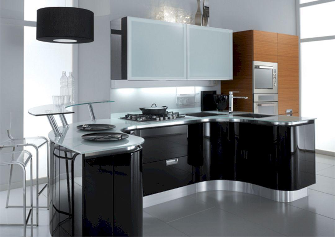 25+ Amazing Black Kitchen Cabinets Design For Amazing Kitchen ...