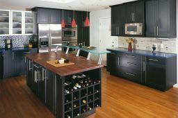 Modern Kitchen Cabinets With Blacks