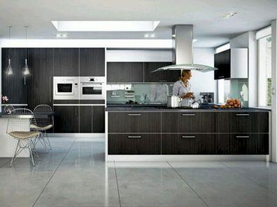 Modern Kitchen Designs With Black Cabinets