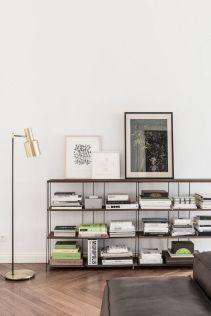 Modern Low Bookshelf