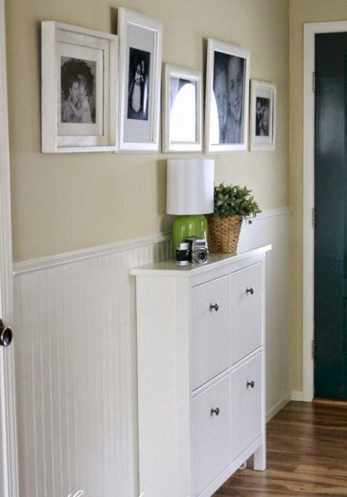 Narrow Entryway Shoe Cabinet In IKEA Design