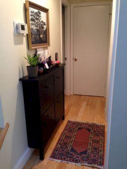 Narrow Hallway Console Cabinet