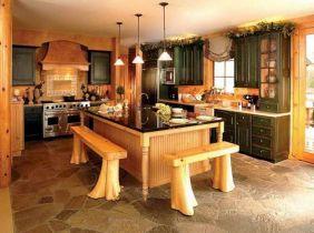 Rustic Kitchen Island Designs