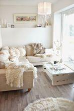 Shabby Chic Apartment Living Room 1