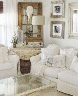 Shabby Chic Apartment Living Room 22
