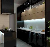 Small Black Kitchen
