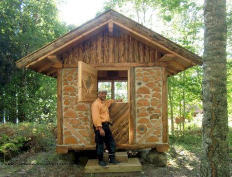 Small Cordwood Cabin