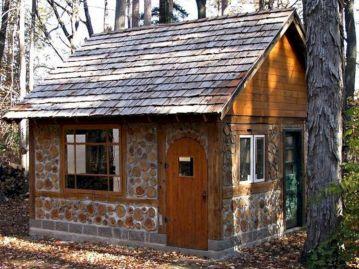 Small Cordwood Homes