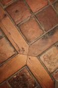 Wood Floor With Tile InlayS