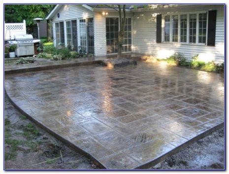 Best Stamped Concrete Patio