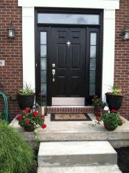 Black Front Door House