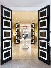Black Front Door Ideas