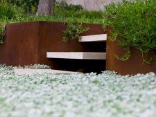 Corten Steel Planter Design