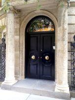 Elegant Black Front Door