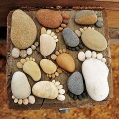 Feet Stepping Stones