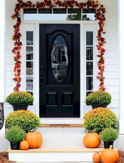 Front Door Fall Decorating Ideas