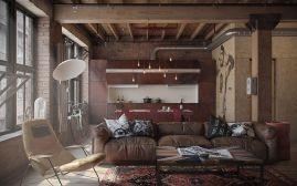 Industrial Interior Design Den